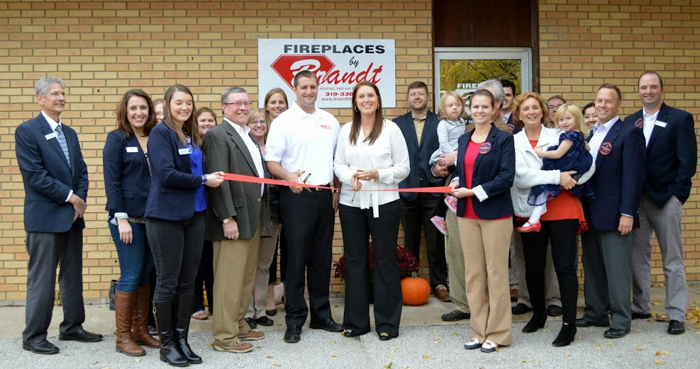 Fireplaces By Bh Ribbon Cutting Brandt Heating And Air