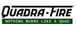quadra fire fireplace inserts logo