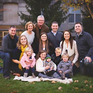 Bill Brandt family