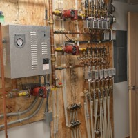In-floor heating system panel Brandt Heating and Air Conditioning