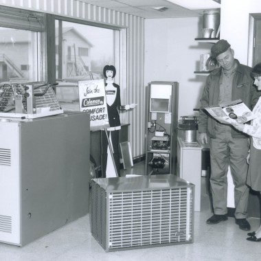 Furnace and Air Conditioner Showroom in Iowa City