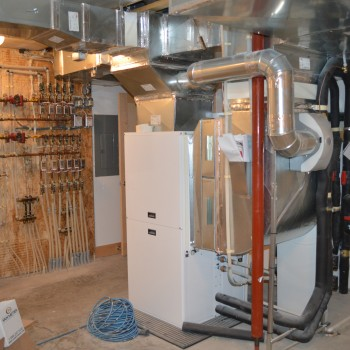 geothermal furnace setup Brandt Heating and Air Conditioning