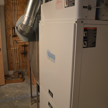 Residential Tetco Geothermal indoor unit Brandt Heating and Air Conditioning