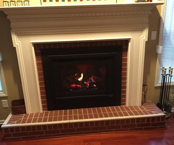 Gas Insert for Fireplace - Iowa City