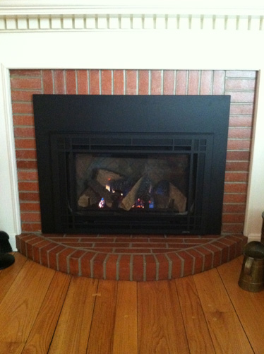 Metal Fireplace Insert - Iowa City, IA - Brandt