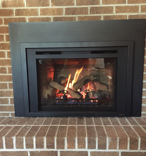 Gas Fireplace Inserts - Iowa City