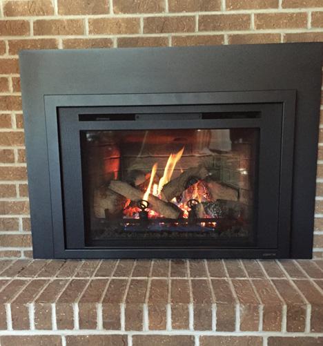 Gas Fireplace Inserts - Iowa City