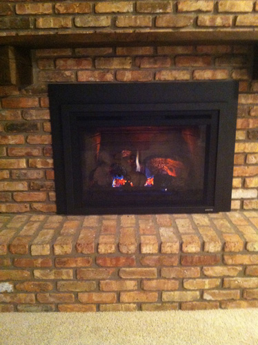 Fireplace Insert - Iowa City - Brandt Heating and Air Conditioning