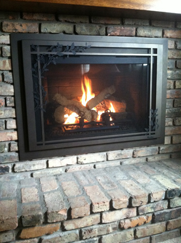 Gas Fireplace Insert - Brandt Heating - Iowa City