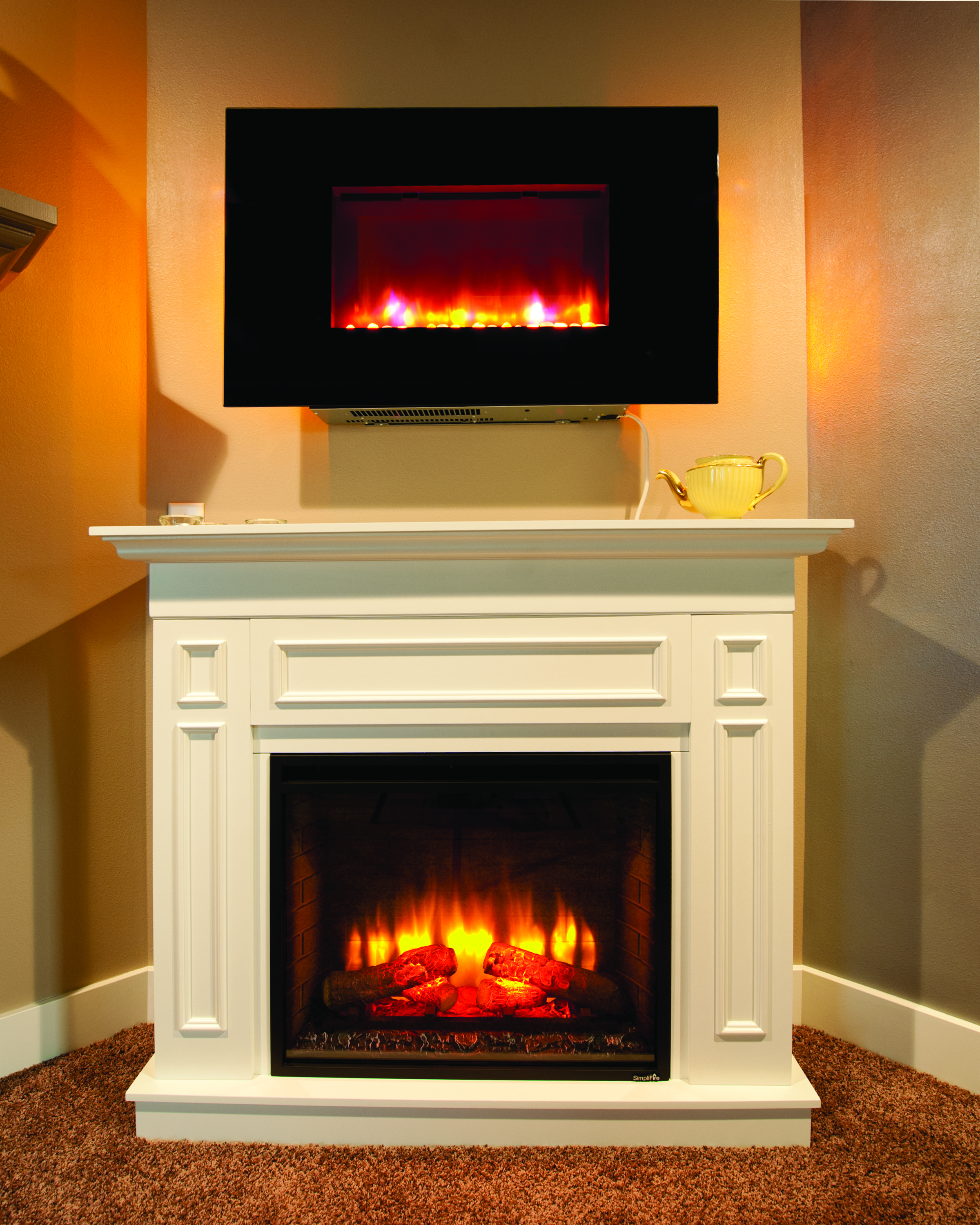 ELECTRIC FIREPLACE available at Brandt
