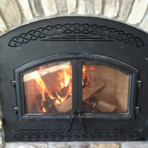 WOOD BURNING Fireplace Brandt Heating and Air Conditioning