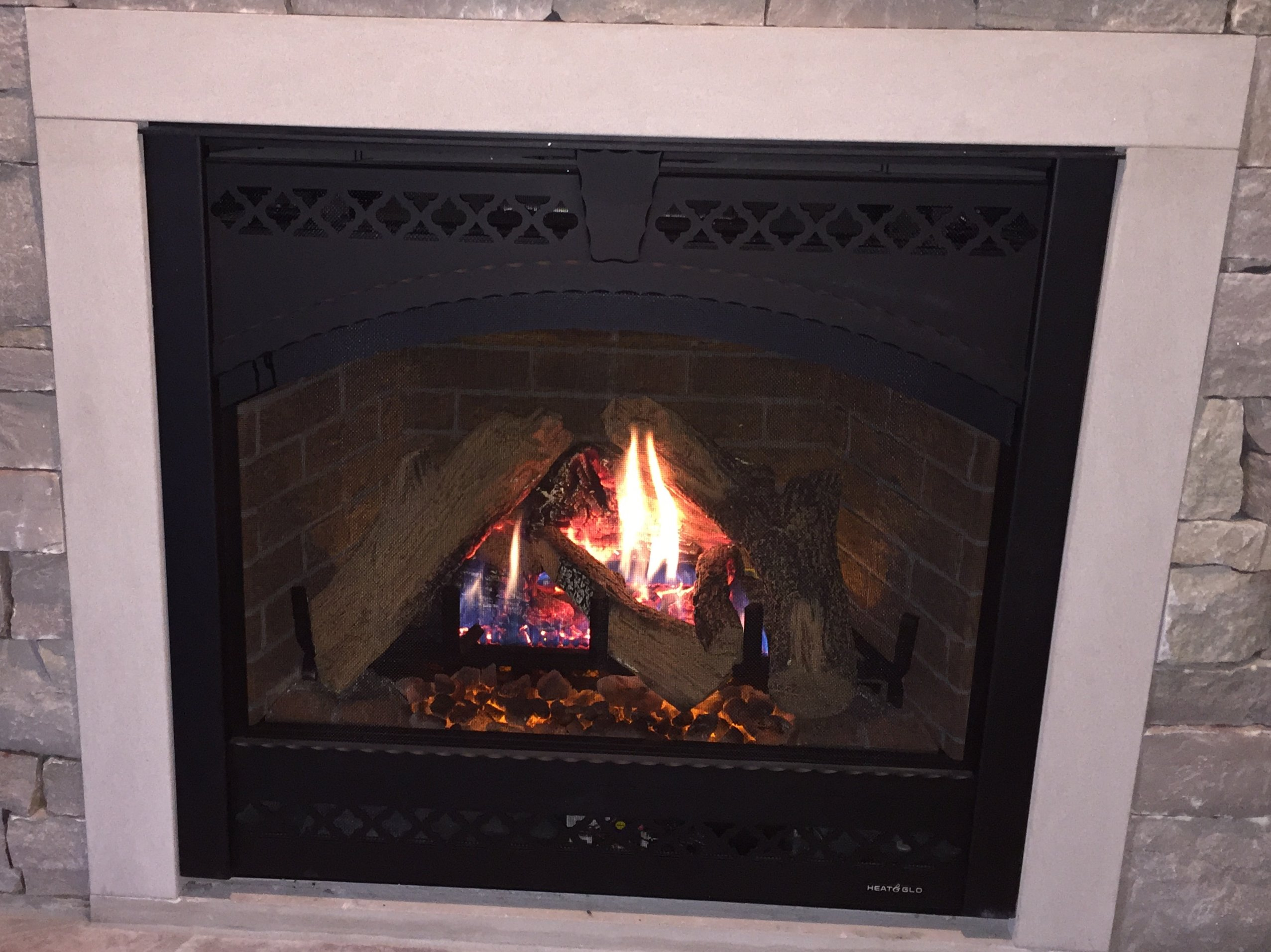 Heat Glo 6000clx Gas Fireplace