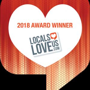2018 Award Winner on Locals Love Us