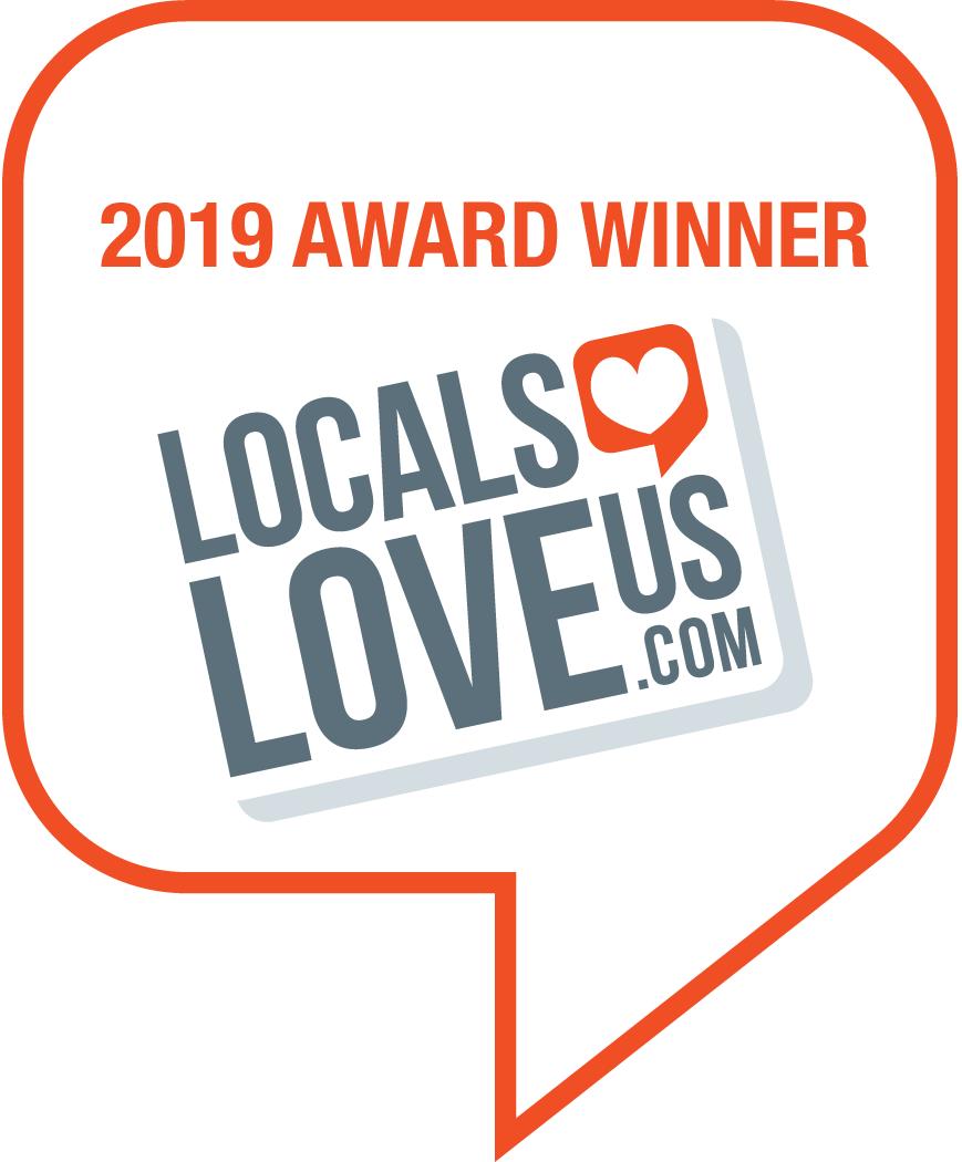 2019 Award Winner on Locals Love Us